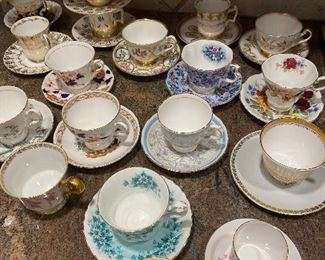 Cup Saucer collection
