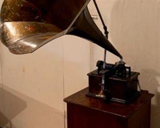 1902 Edison Standard Cylinder Phonogtah