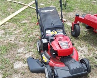 Troy Built Mower with all attachments