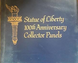 Statue of Liberty 100th anniversary Collector Panels