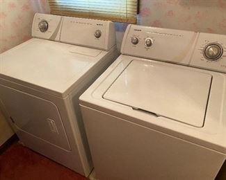 Working Washer & Dryer