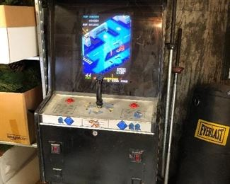 15.  Vintage Sega Zaxxon 1982 Arcade Game (we had a lot of fun playing this) Can reset credits by removing front plate. Wear to panel, but electronics in working order. 400.00