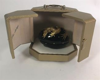 14.  Rare Theo Faberge Dragon Egg, St. Petersburg Limited Edition, signed and numbered $1200.00