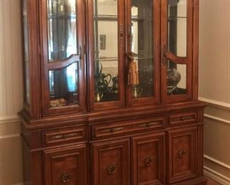 Quality Large China Hutch Display Cabinet