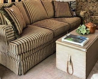 Chest serves as a coffee table