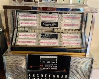 Seeburg consolette jukebox