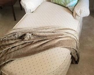 Petite fainting couch