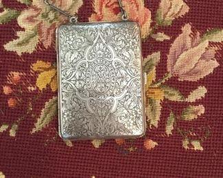 Sterling silver finger purse