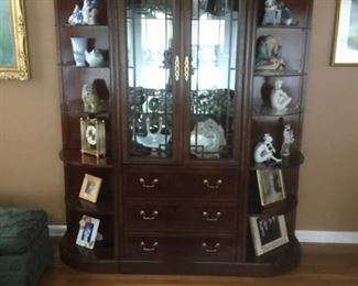 3 piece display unit... could be used for books, dining room office