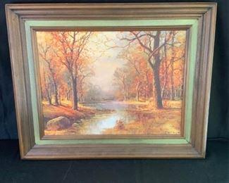 Robert Wood Oil on Canvas