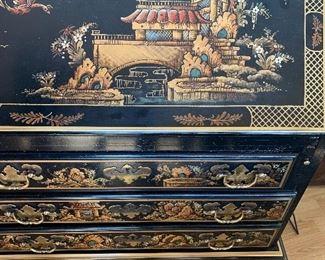 Asian Inspired Desk