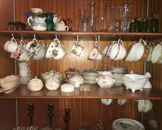 Cup & Saucer China Collection
