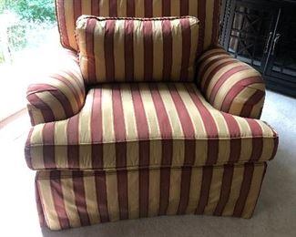 2 Century Custom Upholstered Chairs