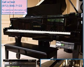 Yamaha C5 Diskalivier GRAND PIANO - available for immediate purchase $25,000
