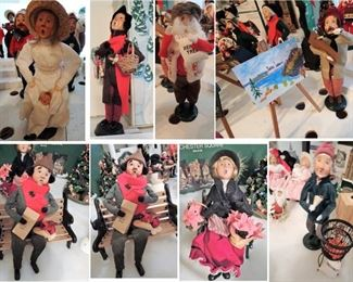 Christmas Byers Choice Dolls and Accessories