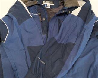 Columbia Men's coat and more