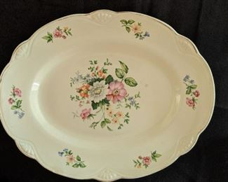 Homer Laughlin Plate