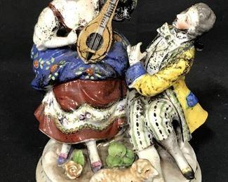 Vintage Porcelain Sculpture, JAPAN