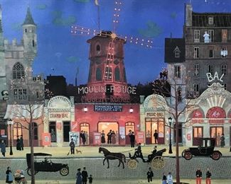 Art Print of The Moulin Rouge