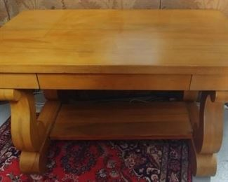 "Desk/Console Table with Drawer Dimension 48"" by 29"" by 28"" Asking $349.00"