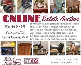 Leighton Online Auction Facebook Post