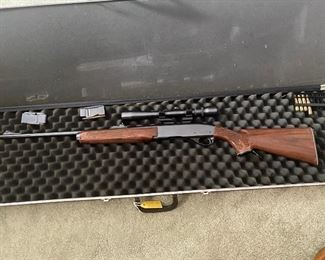Remington Woodsmaster Model 742 Rifle