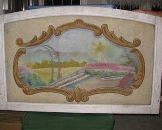 Carousal or merry go round panel