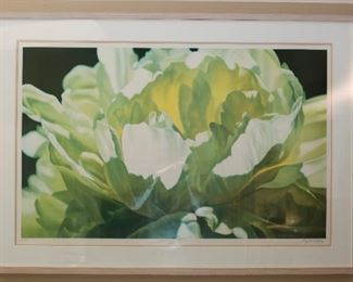 Winifred Godfrey signed floral print