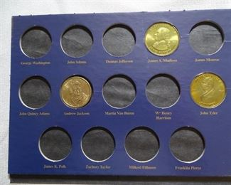 Presidential 1 doarr coins