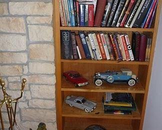 Books and Jim Beam Bottles