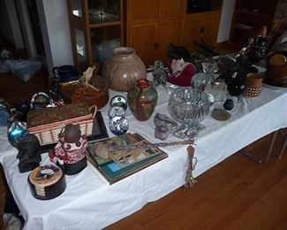 Glassware and Misc. Items