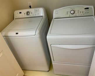 Maytag Washer and Kenmore Dryer
