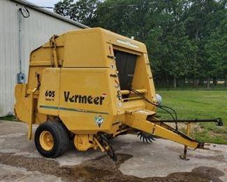 Vermeer 605 5 x 6 Net Baler Series K