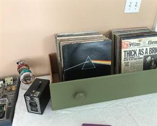 vintage LPs