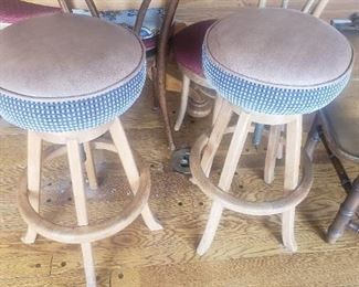 pair of bar stools Appt only sale please text 626 677 4202 for appointment
