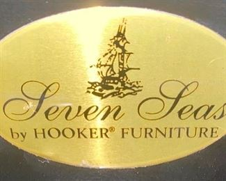 Lot 1502 $425.00.  Seven Seas Collection by Hooker