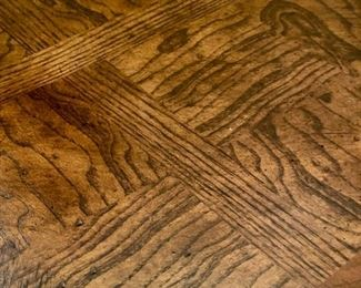 Lot 1502 $425.00. Parquet Finish on Top