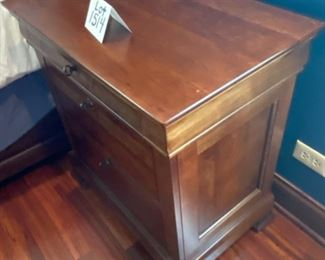 Lot 1514  Asking $595.00 for pair Night Stands from Toms Price - Virginia Sterling Mfg.   Owner paid $1329 for pair.