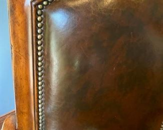 Lot 1519  Asking $275.00  Leather Desk Chair