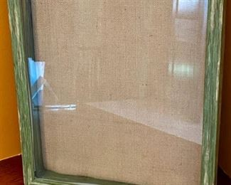 "Lot 1532. $18.00  2 Weathered Wood Shadow Boxes from Parisian Home.  15.25 H x 12"" W"