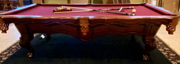 "Lot 1560  Asking $995.00  Peter Vitalie Co. ""Gore Gulch Select""  Premier Pool Table."