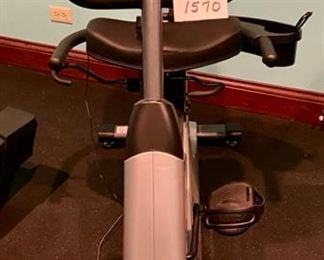 Lot 1570 $350.00  True Fitness Z5 Recumbent Bike Orig. Pd over $2000. Excellent Condition, Great Price for a True Bike.  Health Club Quality.