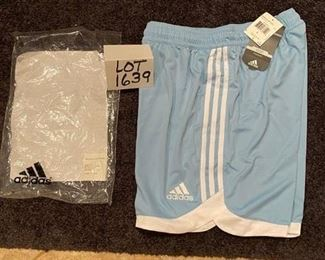 Lot 1639. Adidas Shorts Outfit, Brand New-  Kids Size Large Sz 12-14.