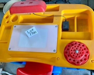 "Lot 1700  $75.00 Vintage Little Tykes Desk includes Chair and it Lights up...""Perfect for Home Office/Work From Home"""