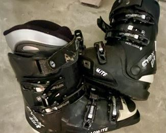 Lot 1713  $120.00. Pair of Dynastar Ski's and Dolomite Boots.  We will check on the size of Boots