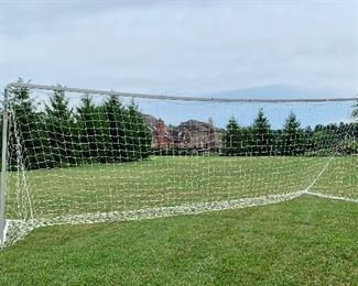 Lot 1698.  $250.00. Portable Fold-A-Goal 24' Soccer Net with Carry Bag See Pics  Perfect for a Soccer Coach without access to Soccer Field for practice.