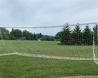 Lot 1698.  $250.00. Portable Fold-A-Goal 24' Soccer Net with Carry Bag