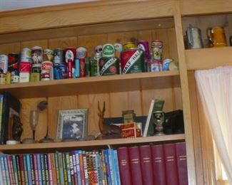 LARGE AMOUNT OF OLD TINS     THIS IS THE MOST TINS  I HAVE SEEN IN ONE HOME BEFORE.