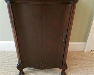 Was $395....Now $197.50/ Antique Mahogany record cabinet
