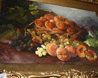 Great E. C. Leavitt oil on canvas